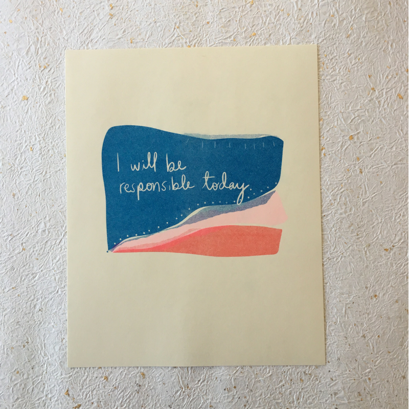 Responsible Today - Riso Print