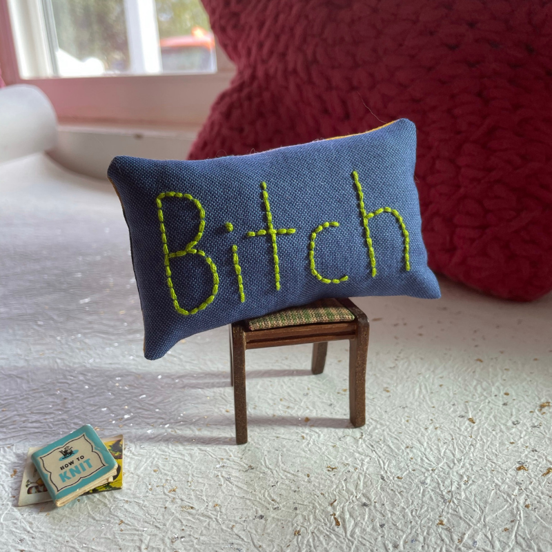 No. 23 - Little Bitch Pillow®