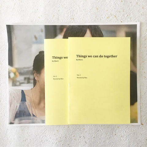 Vol. 2: Things we can do together.