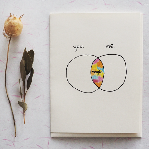 You, Me, Magic - Greeting Card
