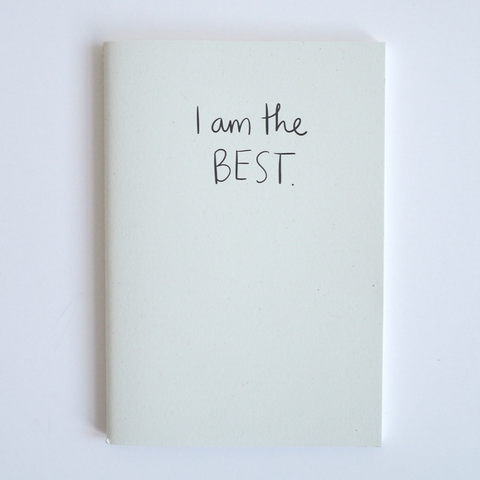 I Am the Best - Notebook