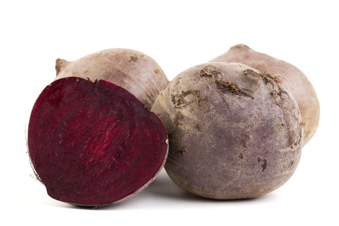 Beets/  Ctn, 1 1/9 bu, bunched, 12 ct/ Available: June-Oct.