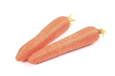 Carrots, Topped/  Ctn, 1/2 bu, bulk, 25 lbs/ Available: July-Oct.