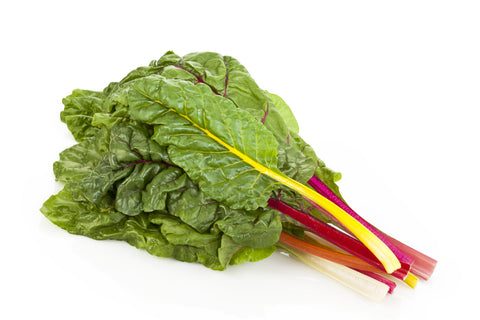 Chard/  Ctn, 1 1/9 bu, bunched, 15 ct/ Available: May-Sept.