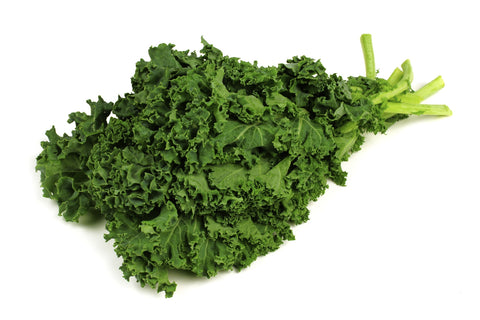 Kale, Curly/  . . . . . Ctn, 1 1/9 bu, bunched, 15 ct/ Available: April-June; Sept.-Nov.
