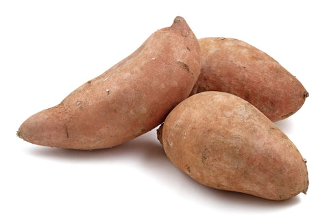 Sweet Potatoes/  Ctn, 1/2 bu, 20 lbs/ Available: Sept.-Mar.