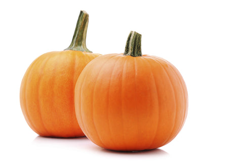 Pumpkins, Pie/  . . . . . Ctn, 1 1/9 bu, 25 lbs/ Available: Oct.-Nov