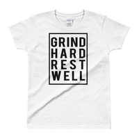 Getting Hard Rest Well Ladies' T-shirt