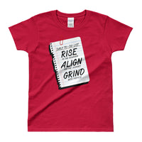Daily To-Do List Ladies' T-shirt