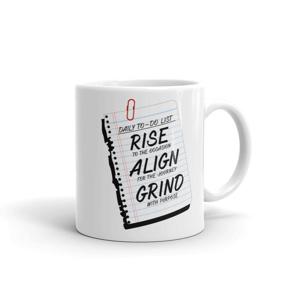 Daily To-Do List Mug