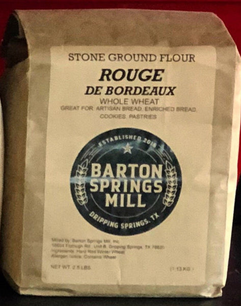 Barton Springs Mill Rouge de bordeaux
