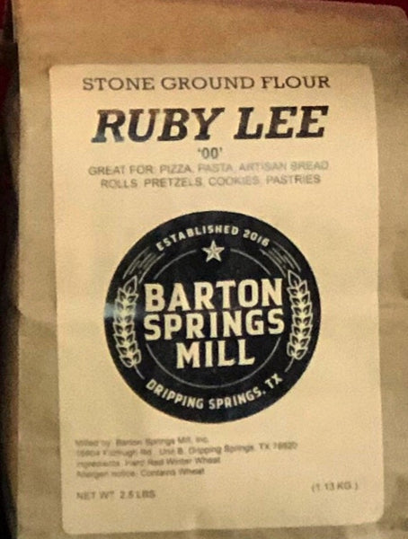 Barton Springs Mill ruby lee '00'