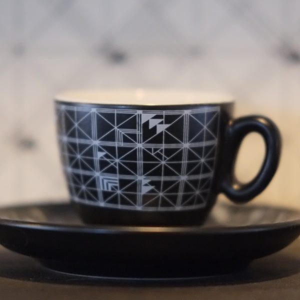 wallpaper porcelain (espresso cup)
