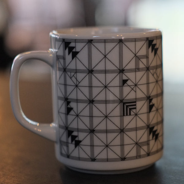 wallpaper porcelain (diner mug)