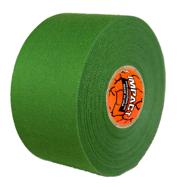 "Green Athletic Tape, Green Hockey Tape, 1.5"" x 15 yards, Green Lacrosse Tape, Athletic Tape, Stick Tape"