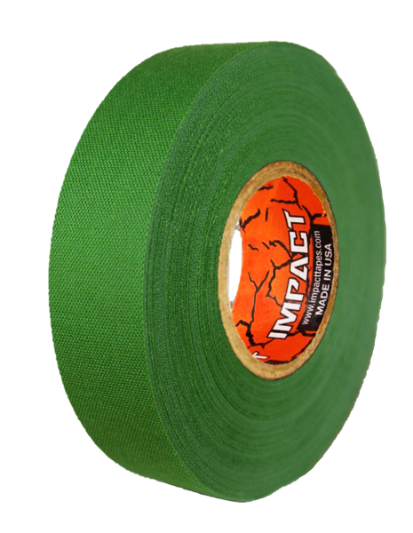 "Green Athletic Tape, Green Hockey Tape, 1"" x 25 yards, Green Lacrosse Tape, Athletic Tape, Stick Tape"