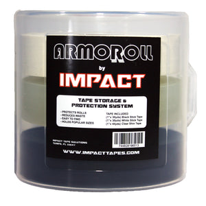IMPACT Athletic Tape: ArmoRoll Tape Storage and Protection System (Comes with 3 Rolls)