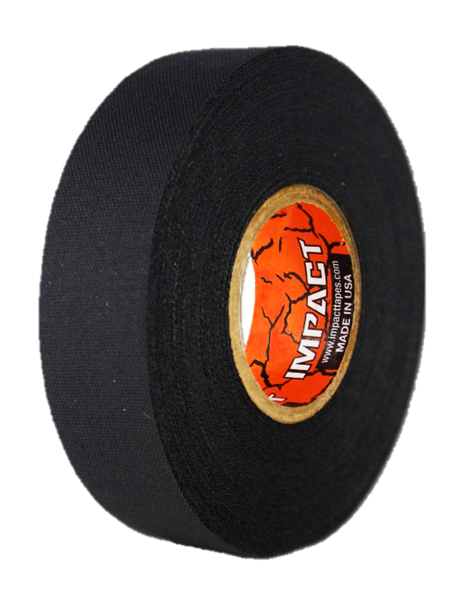 "Black Athletic Tape, Black Hockey Tape, 1"" x 25 yards, Black Lacrosse Tape, Athletic Tape"