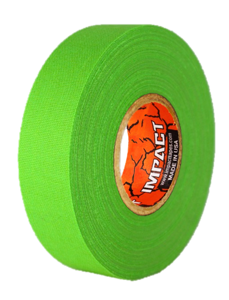 "Neon Green Athletic Tape, Neon Green Hockey Tape, 1"" x 25 yards, Neon Green Lacrosse Tape, Athletic Tape, Neon Green Tape"