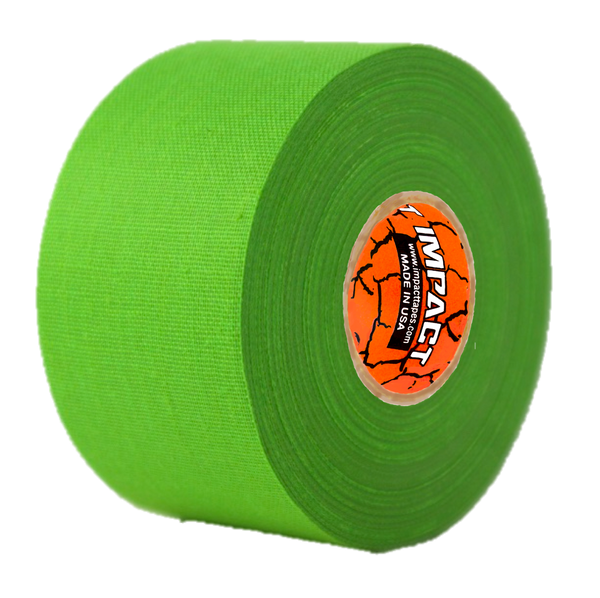"Neon Green Athletic Tape, Neon Green Hockey Tape, 1.5"" x 15 yards, Neon Green Lacrosse Tape, Athletic Tape, Neon Green Tape"