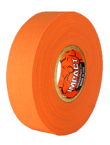 "Neon Orange Athletic Tape, Neon Orange Hockey Tape, 1"" x 25 yards, Neon Orange Lacrosse Tape, Athletic Tape, Neon Orange Tape"