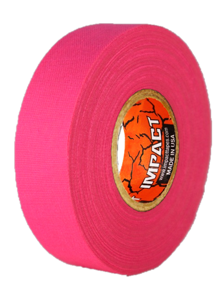 "Neon Pink Athletic Tape, Neon Pink Hockey Tape, 1"" x 25 yards, Neon Pink Lacrosse Tape, Athletic Tape, Neon Pink Tape"
