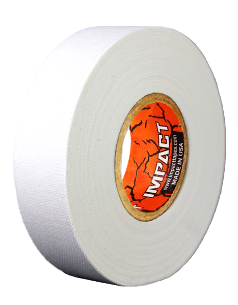 "White Athletic Tape, White Hockey Tape, 1"" x 25 yards, White Lacrosse Tape, Athletic Tape, Stick Tape, White Tape"