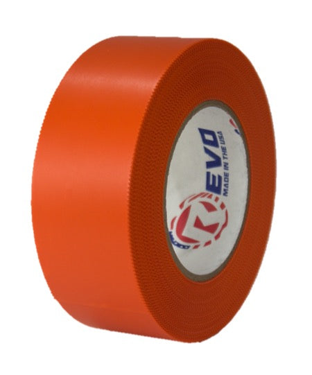 "2"" x 60 yards Orange Preservation Tape, 7.5 mil thickness, Orange Heat Shrink Wrap Tape, Asbestos Removal Tape, Orange Electrical Tape"