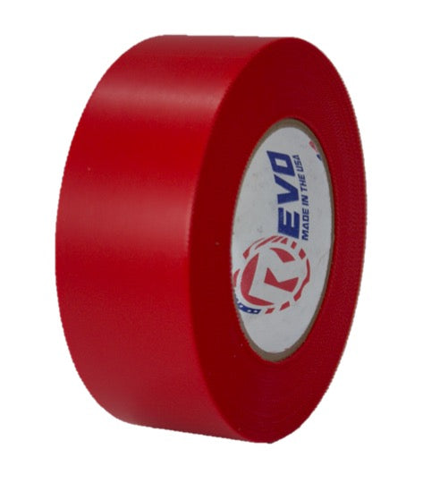 "2"" x 60 yards Red Preservation Tape, 7.5 mil thickness, Red Heat Shrink Wrap Tape, Asbestos Removal Tape, Red Electrical Tape"