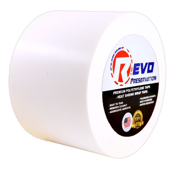 "REVO Preservation / Heat Shrink Wrap Tape: 4""x 60yd (Light & Heavy Duty)(SINGLES)"