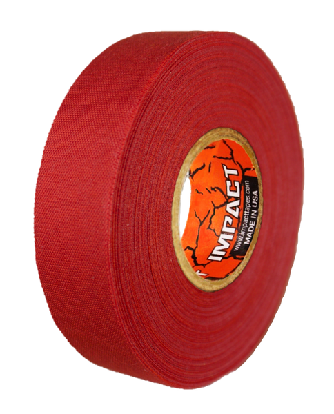 "Red Athletic Tape, Red Hockey Tape, 1"" x 25 yards, Red Lacrosse Tape, Athletic Tape, Stick Tape, Red Tape"