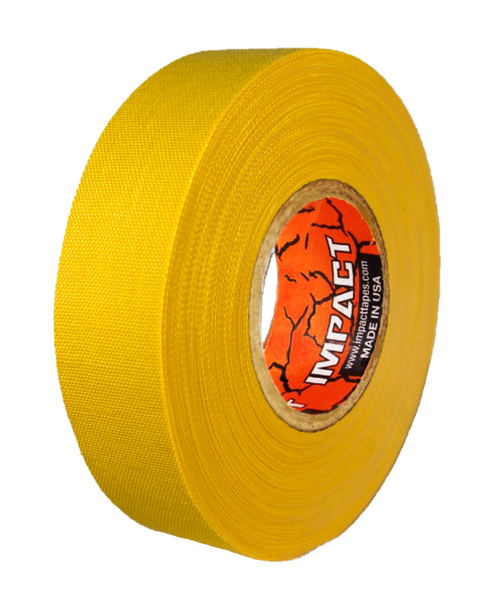"Yellow Athletic Tape, Yellow Hockey Tape, 1"" x 25 yards, Yellow Lacrosse Tape, Athletic Tape, Yellow Tape"
