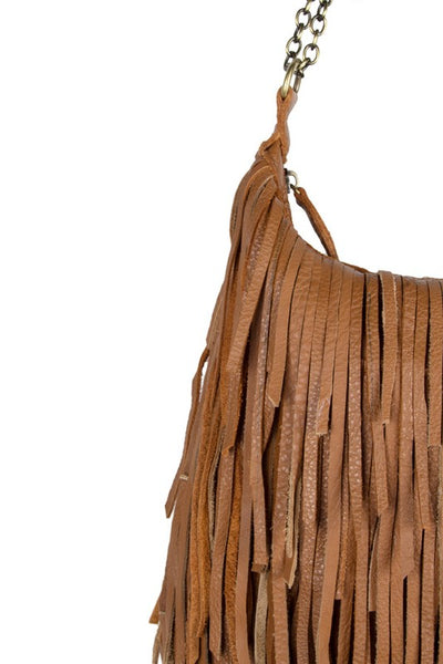 Boho Leather Handbag - Prairie Rose Boutique