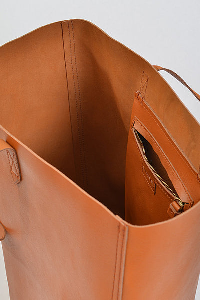 Lovely Leather Tote - Prairie Rose Boutique