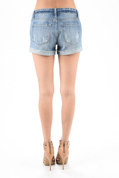 KanCan Marci Shorts - Prairie Rose Boutique
