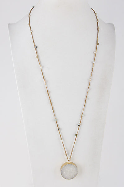 Rose Necklace - Prairie Rose Boutique