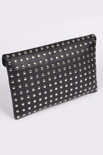 Studded Envelope Clutch - Prairie Rose Boutique