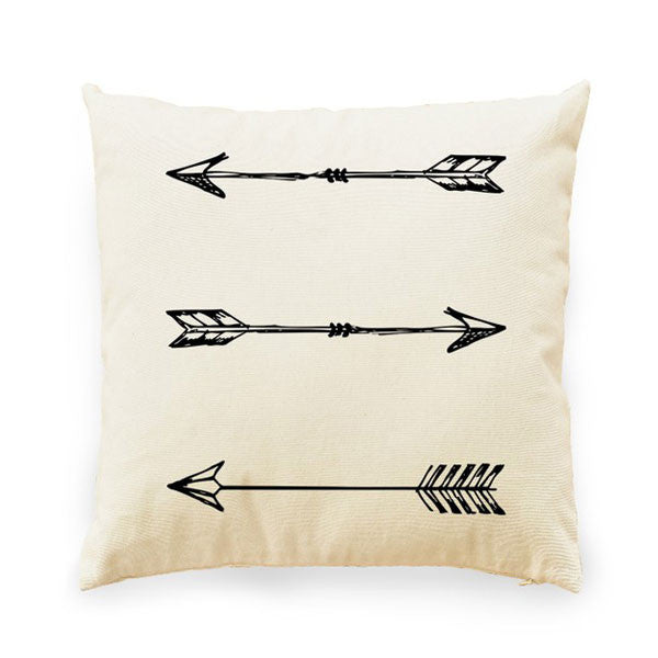 Arrow Pillow - Prairie Rose Boutique