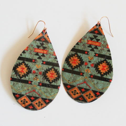 Aztec Earrings - Prairie Rose Boutique