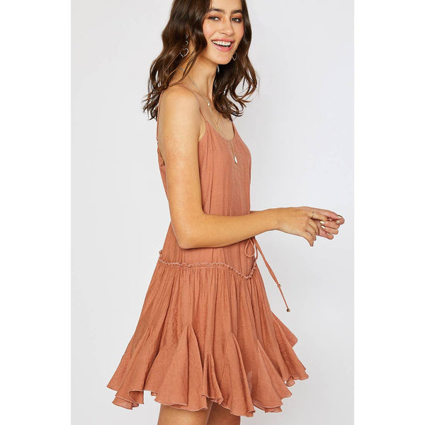 Sasha Dress - Terracota