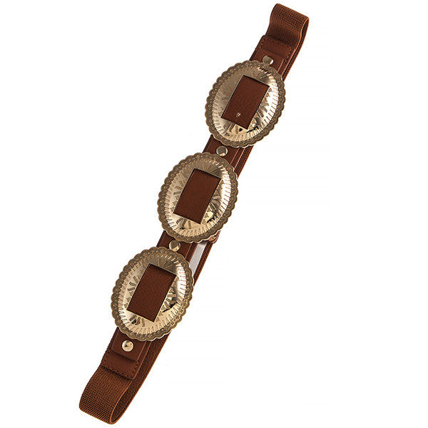 Bandit Concho Belt - Prairie Rose Boutique