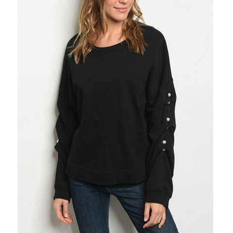 Jackie Sweatshirt - Prairie Rose Boutique