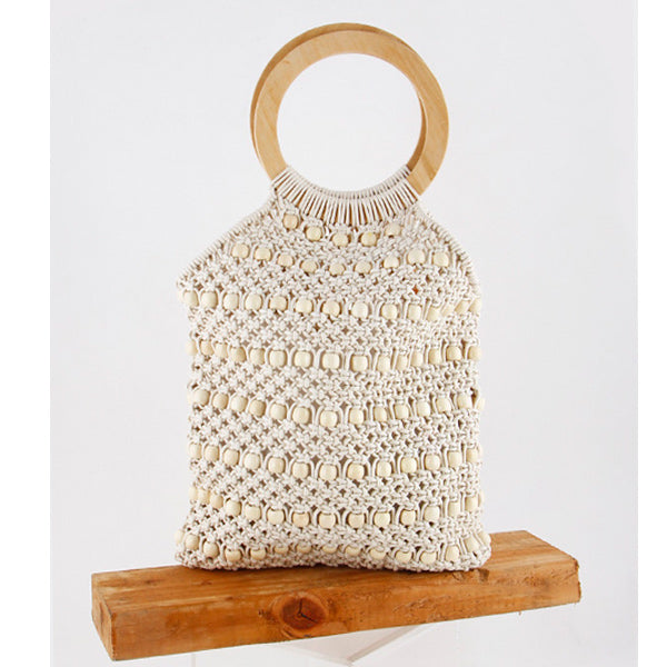 Boho Beaded Bag - Prairie Rose Boutique