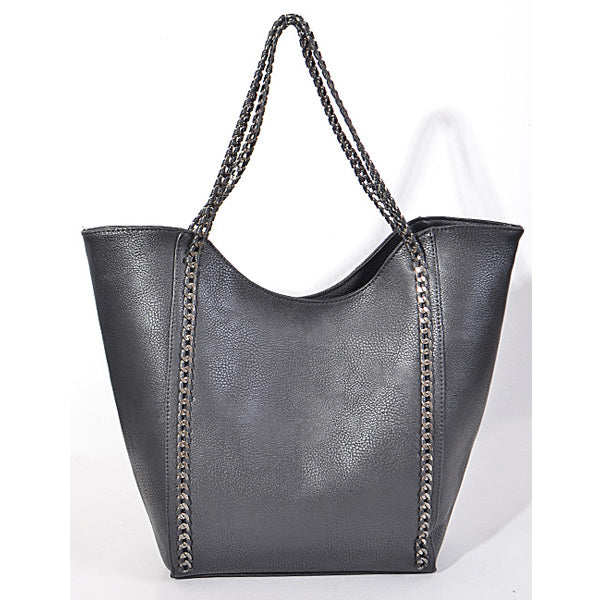 In Style Tote - Black - Prairie Rose Boutique