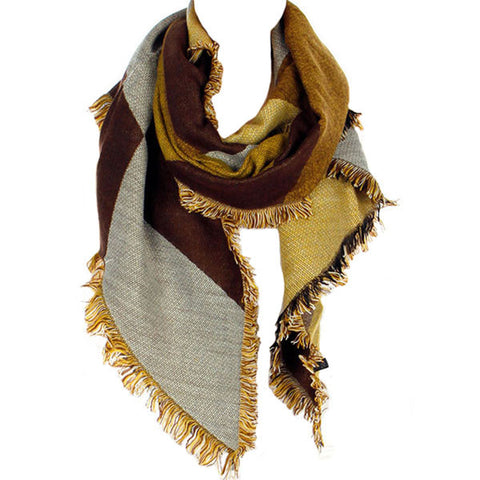 Butterscotch Blanket Scarf - Prairie Rose Boutique