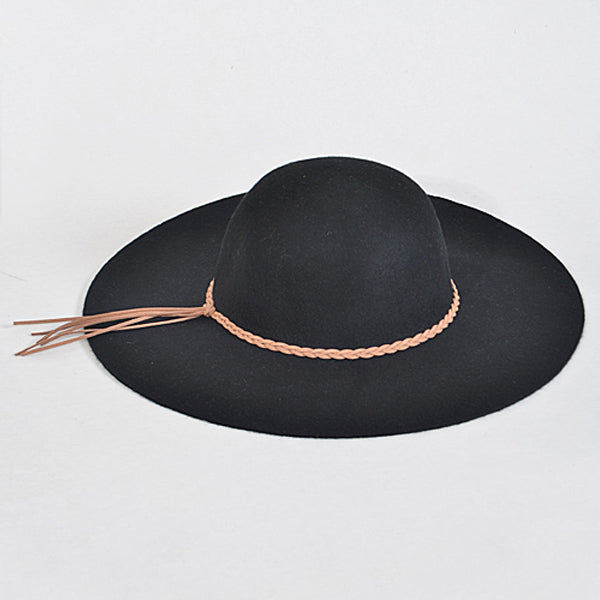 Georgia Hat - Black - Prairie Rose Boutique