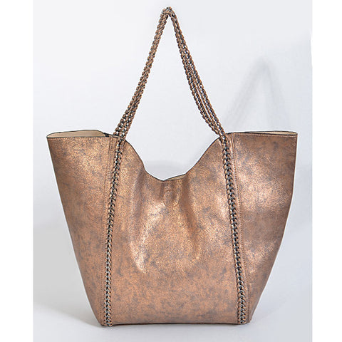 In Style Tote - Bronze - Prairie Rose Boutique