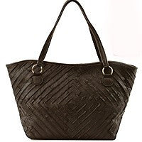 Luxurious Leather Tote - Prairie Rose Boutique