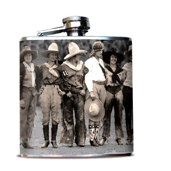 Cowgirl Flask - Prairie Rose Boutique