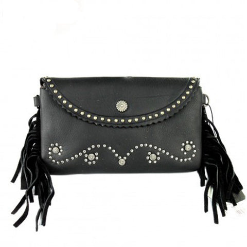 Deadwood Clutch - Black - Prairie Rose Boutique